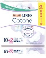 Pacchetto assorbenti LINES Cotone
