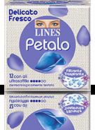 Pacchetto assorbenti LINES Petalo Blu