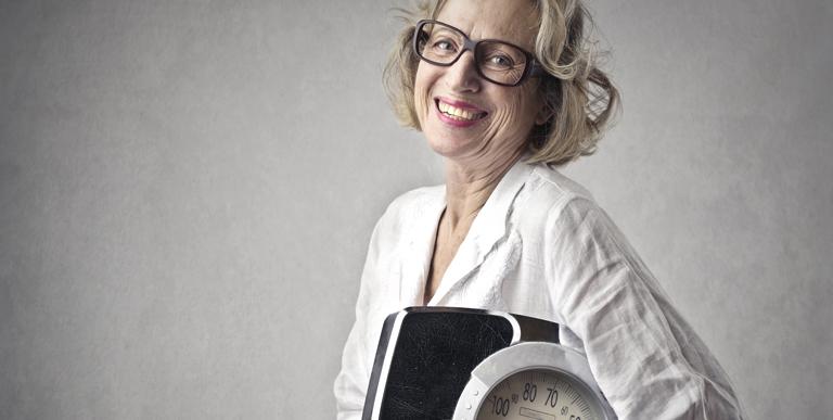 Il peso in menopausa