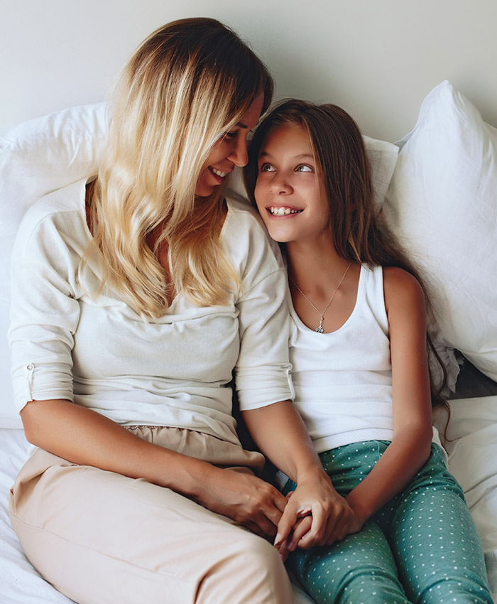Contraccezione parlare con tua figlia
