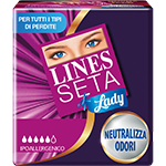 Assorbente LINES Seta Lady
