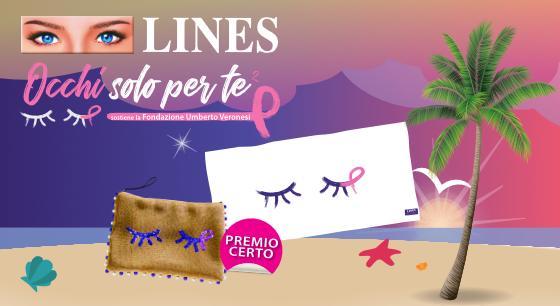 LINES Occhi solo per te Summer Collection